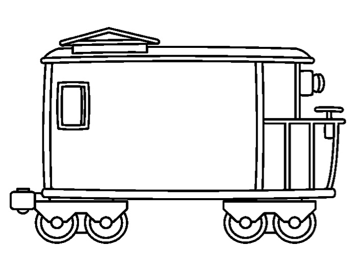 Images of Train Caboose Template - #rock-cafe
